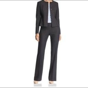 Hugo Boss Tulea Wool Blend Grey Trousers